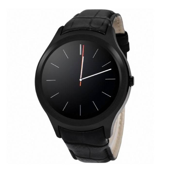 Originele D5 Smartwatch Smartphone Fitness Sport Activity Tracker Horloge OLED Android iPhone Samsung Huawei Zwart