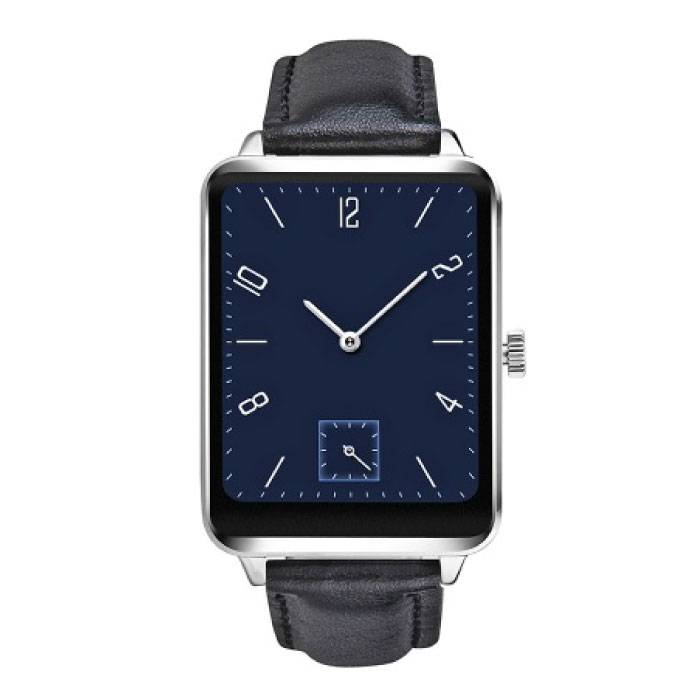 D'origine A58 Smartphone Android montre OLED SmartWatch iOS Argent