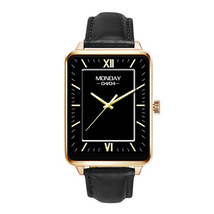 Original A58 Smartphone Watch OLED SmartWatch Android iOS Gold