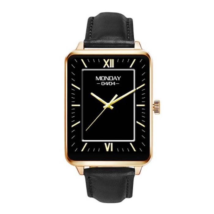 Originele A58 Smartwatch Smartphone Horloge OLED Android iOS Goud
