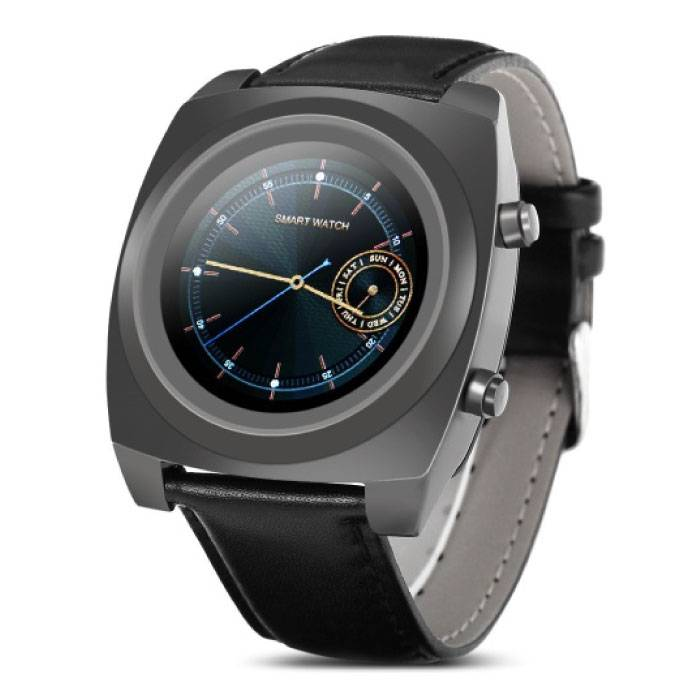 Z03 originale Smartwatch Montre OLED Smartphone Noir