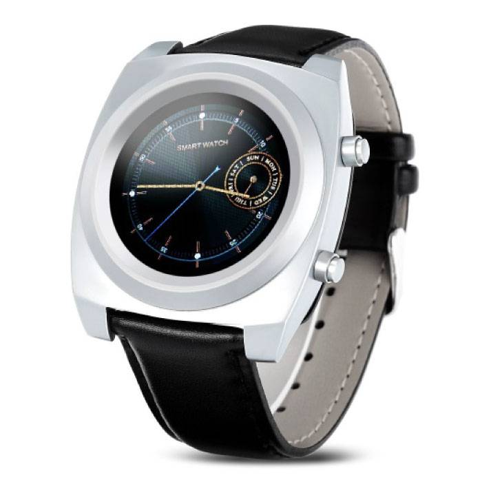 Z03 original SmartWatch Smartphone Fitness Sports Tracker activité Regarder OLED iPhone Samsung Huawei Argent