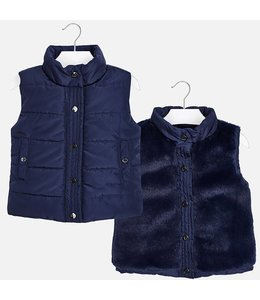 Mayoral Bodywarmer reversible navy