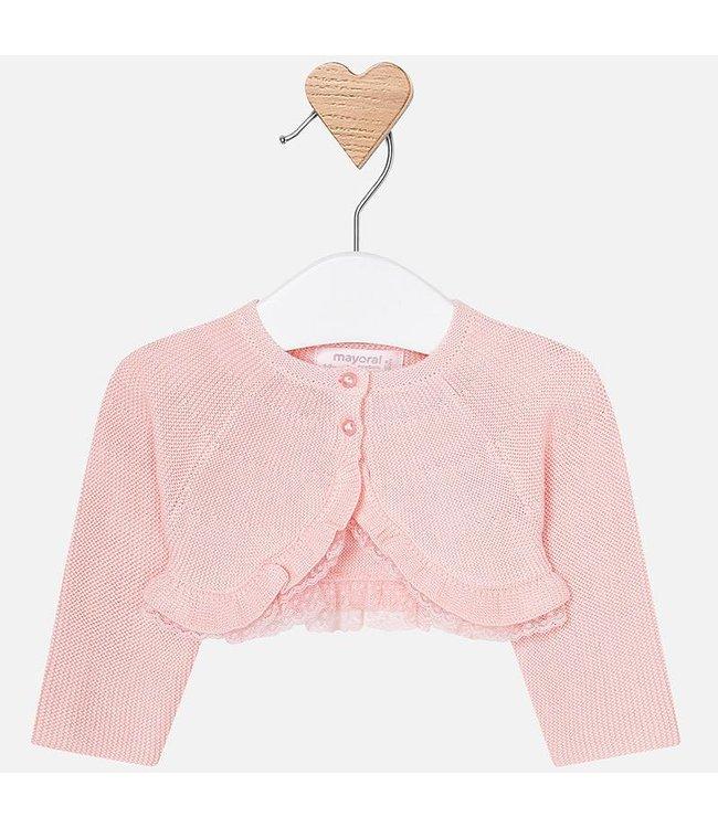 Mayoral Cardigan pink baby girl