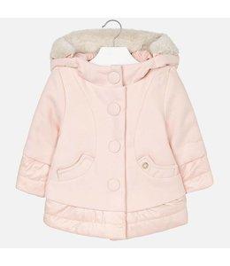 Mayoral Coat winter pink