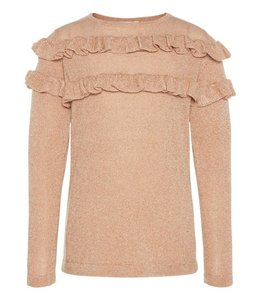 Name It Pink-gold sweater