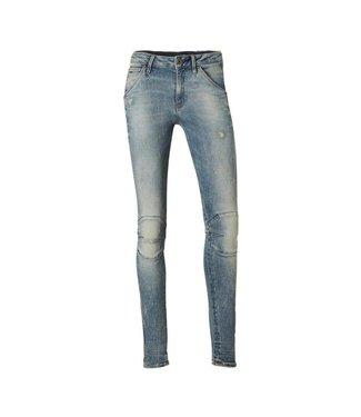 G-Star 5622 Midwaist skinny jeans blauw D06722-8969-9114
