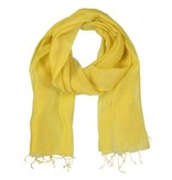 Yaya SILK BLEND BASIC SCARF GOLDEN SHINE 990991-815