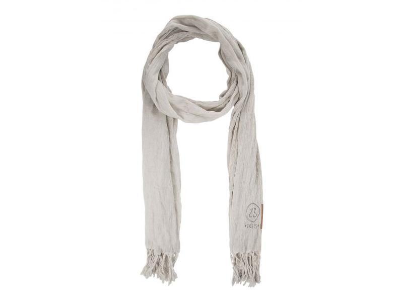 Zusss Nonchalante sjaal krijt 03NS18vset