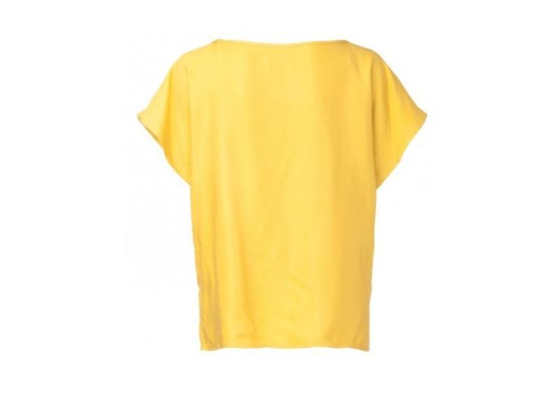 Yaya WOVEN TOP GOLDEN SHINE 012598-815