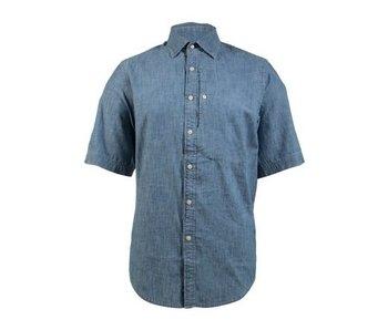 G-Star Bristum utility shirt s/s blauw D09123