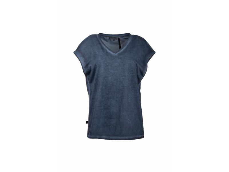 Zusss Eigenwijs t-shirt blauw 03ET18vsetL