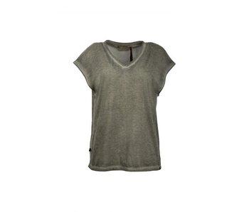 Zusss Eigenwijs t-shirt groen 03ET18vsetL