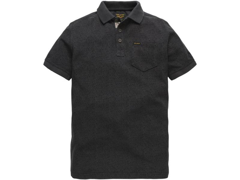 PME Legend Short sleeve polo Light Pique Dark Navy PPSS184861