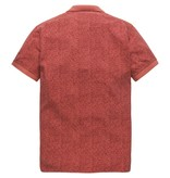 PME Legend Short sleeve polo Light Pique Mineral Red PPSS184861