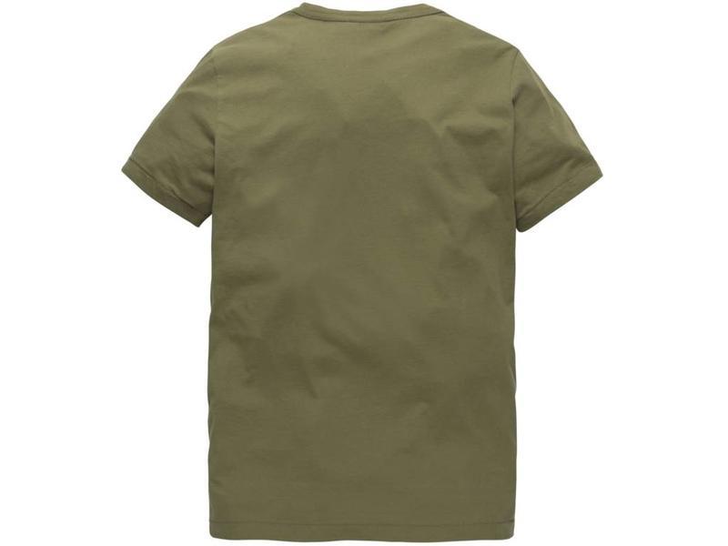 PME Legend Short sleeve r-neck Play LW T-Shirt Martine Olive PTSS184531