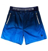 Superdry Active ombre training short blauw MS3018PQ