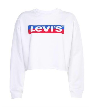 Levi's Graphic raw cut sweater white 56340-0003