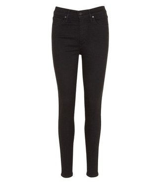 Levi's Mile high super skinny zwart 22791-0052