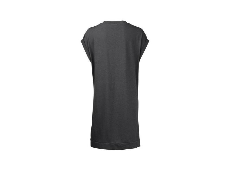 Yaya JERSEY V-NECK DRESS ALMOST BLACK 081742-815