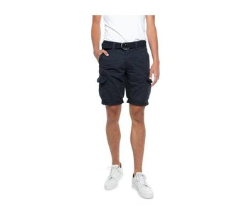 PME Legend Fast Forward Twill ENGINE SHORTS Dark Navy PSH184651