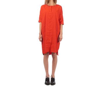 Penn & Ink Dress rood s18w025