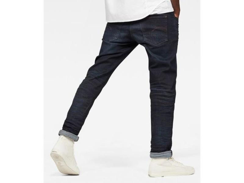 G-Star 3301 Deconstructed slim jeans blauw D05702-8968-8960