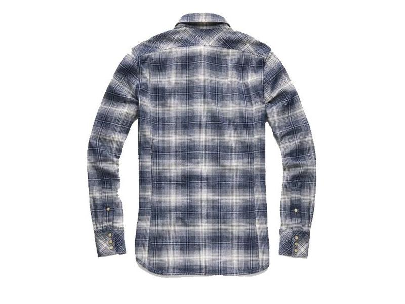 G-Star 3301 shirt blauw D10140-a568-8326