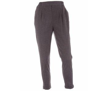 10Days Pants pinstripe antraciet 20-065-8103