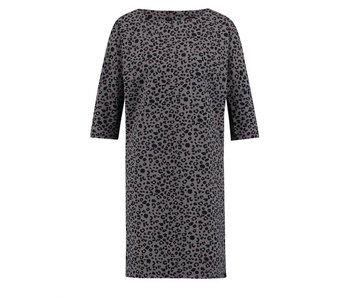 Penn & Ink Dress aop grijs W18N342B