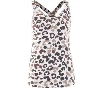 10Days Wrapper leopard blurry zand 20-705-8103