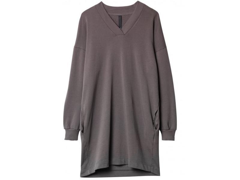 10Days Dress grijs 20-344-8103