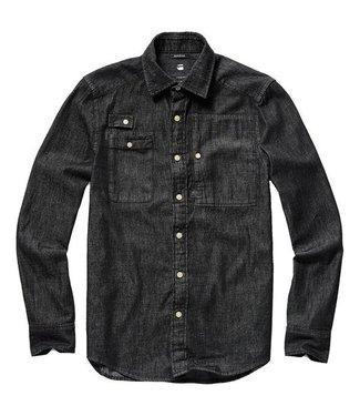 G-Star H-A utility shirt l/s zwart D10179-9998-082