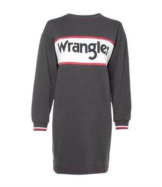 Wrangler Sweat dress zwart w9066hqv6