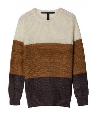 10Days Sweater bruin 20-601-8103