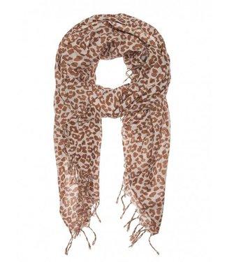 10Days Scarf leopard zand 20-913-8103