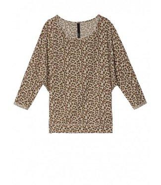 10Days Longsleeve leopard off white 20-776-8103