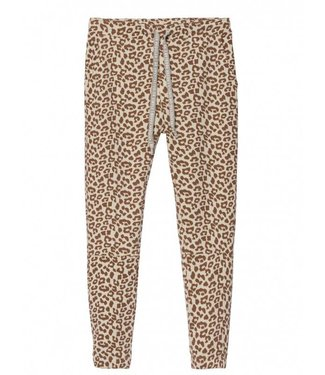 10Days Cropped jogger leopard off white 20-018-8103