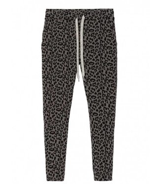 10Days Cropped jogger leopard grijs 20-018-8103
