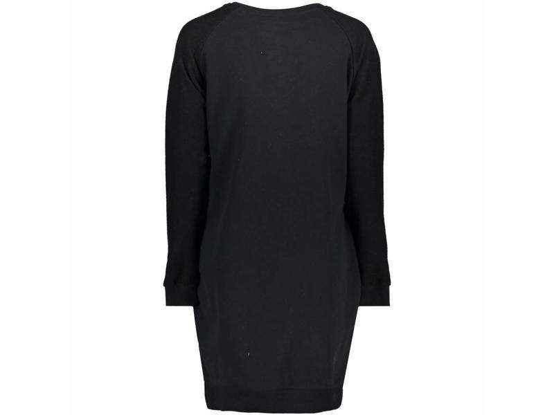 Superdry Taylor sweat dress zwart G80006BR