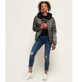 Superdry Core down hooded jacket grijs G50001DR