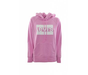 Levi's Graphic sport hoodie roze 35946-0017