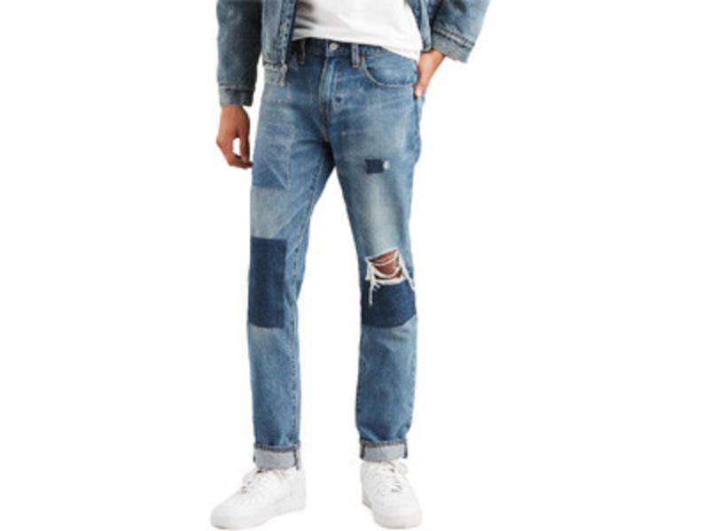 Levi's 511 slim fit blauw 04511-2977
