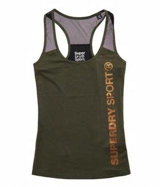 Sport fittes mesh vest groen GS3193PQ