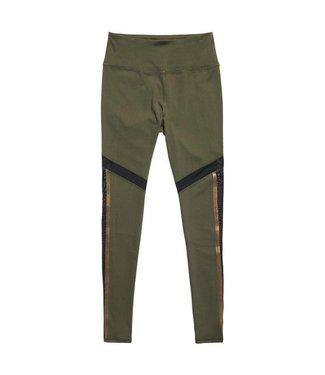 Sport mesh legging groen GS3197PQ