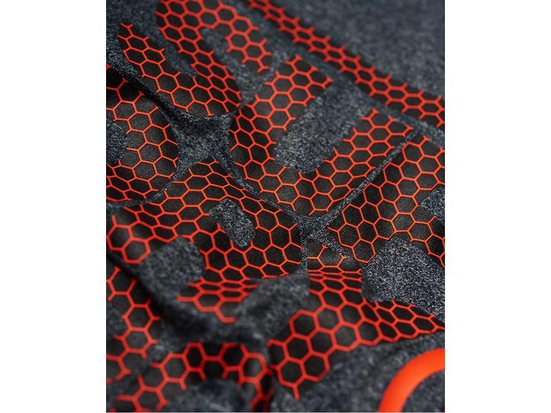 Core l/s graphic tee zwart MS3001RR