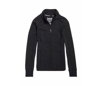 Core track jacket zwart GS30044AR