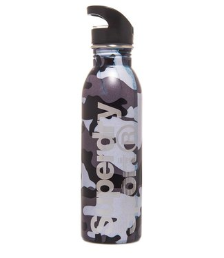Steel sport bottle zwart MS4002MR