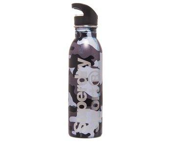 Steel sport bottle zwart MS4002MR