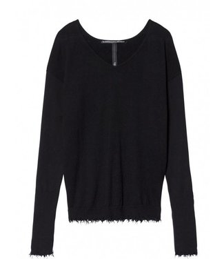10Days v-neck sweater zwart 20-604-8103